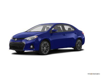 2016 Toyota Corolla L (blue crush metallic)