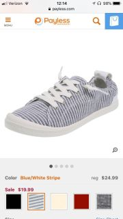 Size 7 American eagle by Payless sneaker