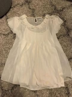 Off white maternity blouse, large