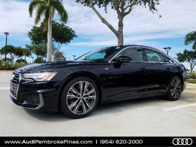 2019 Audi A6 Premium Plus (Mythos black metallic)