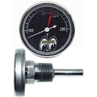 Purchase MOON SMALL LIQUID FILLED TEMPERATURE GAUGE RAT HOT ROD GASSER TEMP FLATHEAD SCTA motorcycle in Sacramento, California, US, for US $59.99