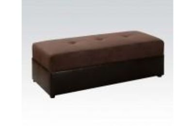 Item Type Ottoman Finish Chocolate ER, Espresso Bycast Collection Name Lisbon Detail Construction KD, Tight & Buttonless Tufted Seat