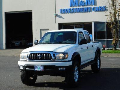 2001 Toyota Tacoma V6 (Super White)