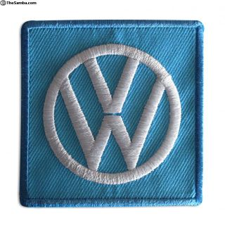 Vintage Embroidered VW volkswagen Sew On patch NOS