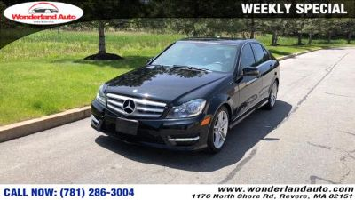 2012 Mercedes-Benz C-Class C300 4MATIC Luxury (Black)