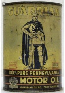 Guardian Oil Cans out of Kearney or Port Newark,NJ