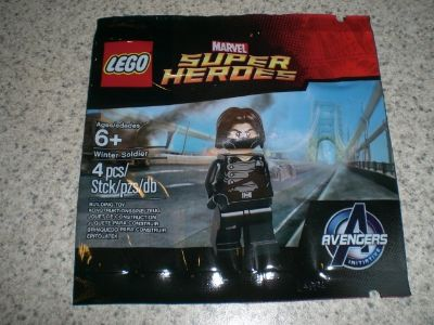 Lego #5002943 Super Heroes Winter Soldier polybag NEW