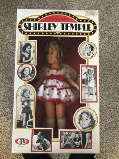 Brand New in Box Shirley Temple Doll