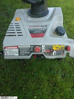 For Trade: Snow blower