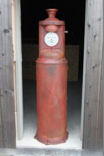 Correct Measure Clockface Gas Pump