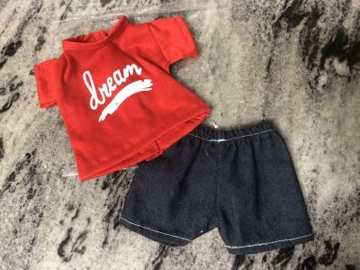 NEW 2 piece outfit for 18in dolls like American Girl Dolls $4