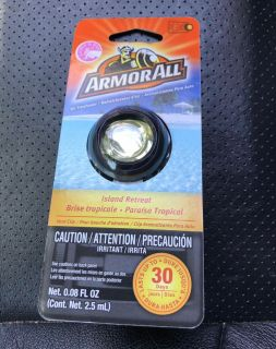 NEW!! ARMORALL VENT CLIP AIR FRESHENER #1