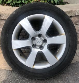 4 All-Season 18in Tires on rims (mags)