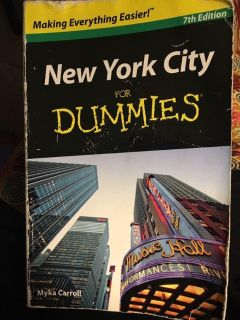 New York City for Dummies 7th Edition