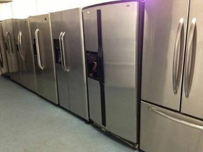 Stainless Steel Double door and Top Bottom Refrigerator Units