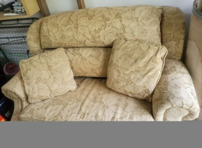 Small couch with pull out bed