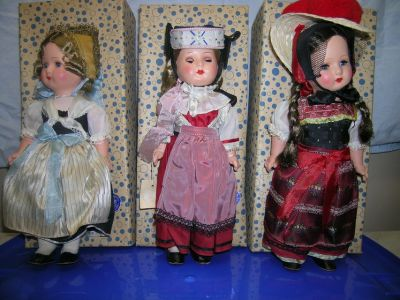 Vintage Gura Dolls from West Germany
