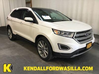 2018 Ford Edge TITANIUM AWD (WHITE PLATINUM MET TRI-CO)