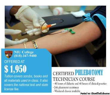 Certified Phlebotomy Technician class