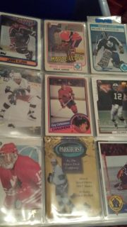 1990's hockey cards plus others