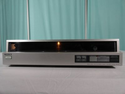 1982 SONY PS-FL1 AUTOMATIC DIRECT DRIVE LINEAR TRACKING TURNTABLE