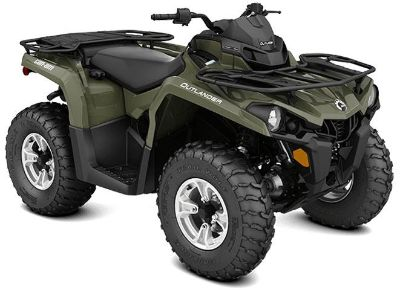 2018 Can-Am Outlander DPS 570 Utility ATVs Lakeport, CA