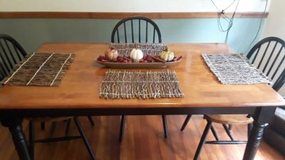 4 PC. Twig Placemats