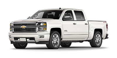 2015 Chevrolet Silverado 2500HD Built After Aug 14 4WD Crew Cab High Country (Black)