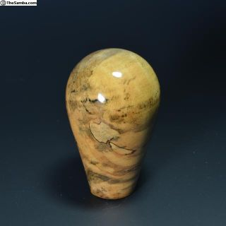 M12 X 1.5 Custom Made Spalted Maple Shift Knob