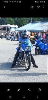 Kawaski Drag Bike