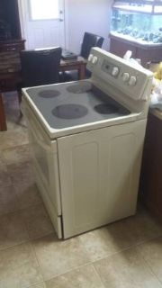 Electric Kenmore stove