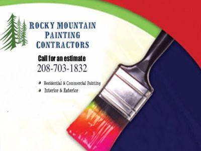 Rocky Mountain Painting —-> 208-703-1832 —-> FREE ESTIMATES