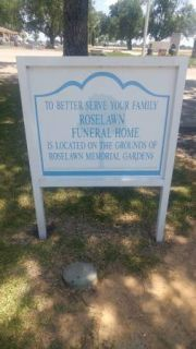 1 BURIAL PLOT AT ROSELAWN FUNERAL HOME SEAGOVILLE TX 75159