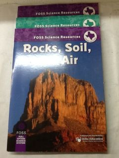 Foss Science Resources Books Texas Edition - Set of 3