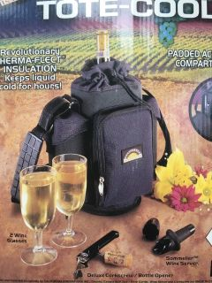 Wine & Beverage Tote-Cooler NEW