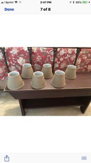6 Chandelier Lampshades