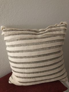 Pillow with removable cover