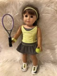 American Girl Doll Tennis Outfit
