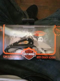 Harley davidson key chain knife