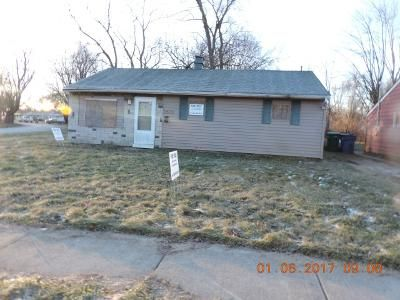 3 Bed 1 Bath Foreclosure Property in Gary, IN 46407 - Central Dr