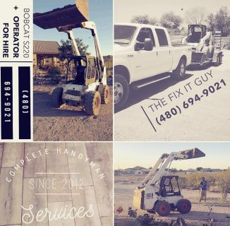 Bobcat S220 + Operator - Hourly Rental - Services/Package