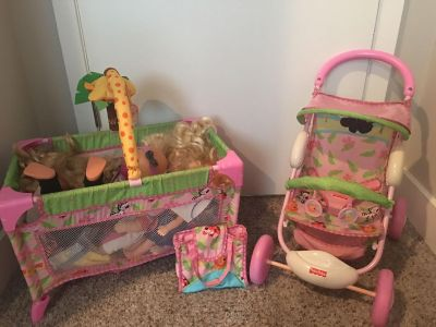 Fisher Price Doll Set