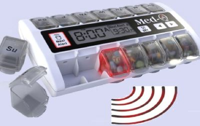 Smart Pill Box with Alarms in this Smart Age: Medqpillbox