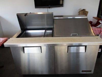 True Refrigerated Sandwich Prep Table RTR#7031763-04