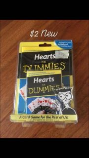 New Hearts for Dummies card learning game