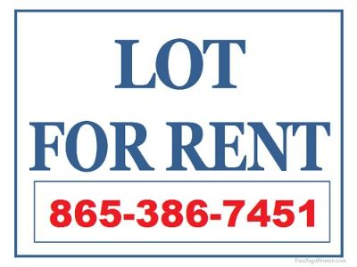 MOBILE HOME LOT, FOR RENT, SMALL LOT ...