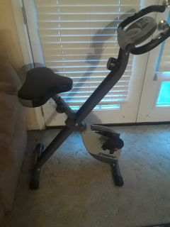 Stamina exercise bike used 3 times 2 months old paid $95 SEE DESCRIPTION