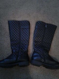 2 pairs of Wide calf boots size 11