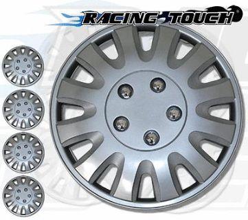 "Buy Metallic Silver 4pcs Set #738 15"" Inches Hubcaps Hub Cap Wheel Cover Rim Skin motorcycle in La Puente, California, US, for US $30.50"
