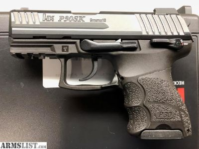 For Sale: Heckler & Koch P30SK V3 9mm HK P30 SK Night Sights